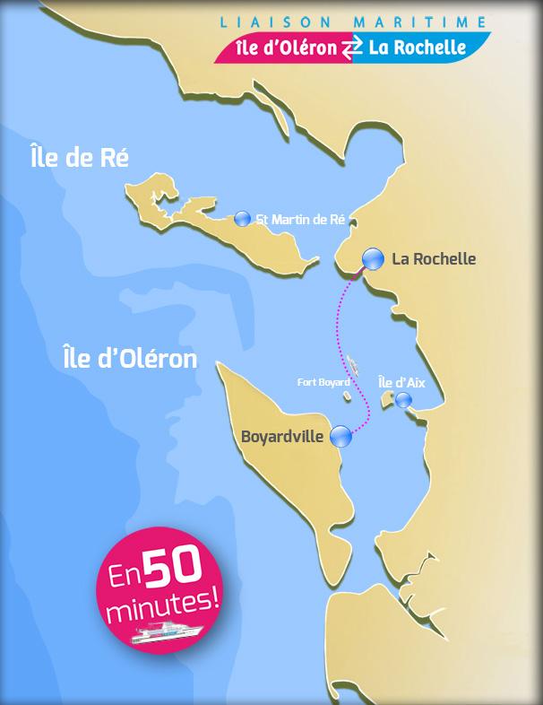 Liaison Maritime La Rochelle île D Oléron